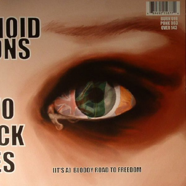 PARANOID VISIONS - TWO BLACK EYES EP